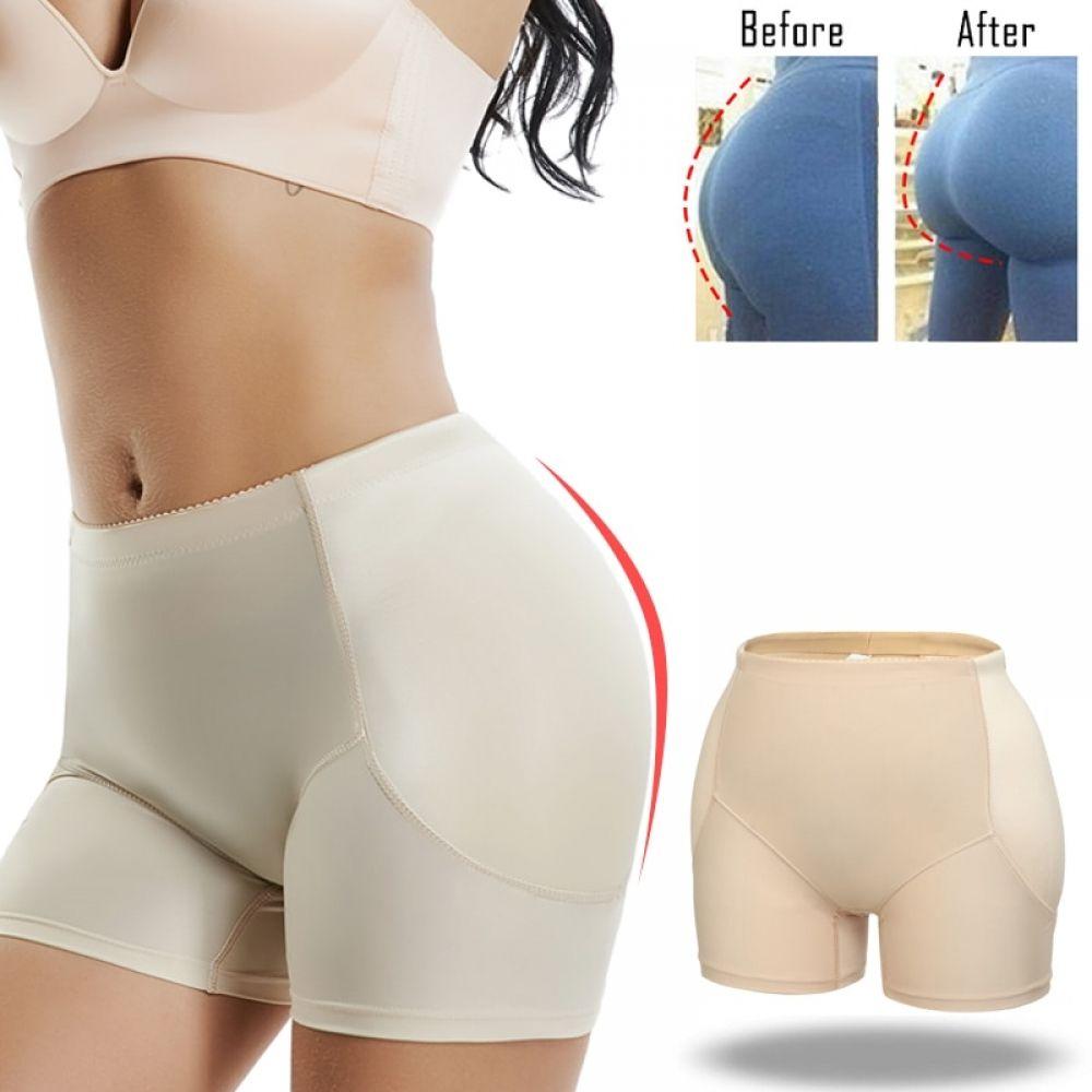 Women Padded Bum Pants Enhancer Shaper Panty Butt Lifter Booty Briefs Underwear