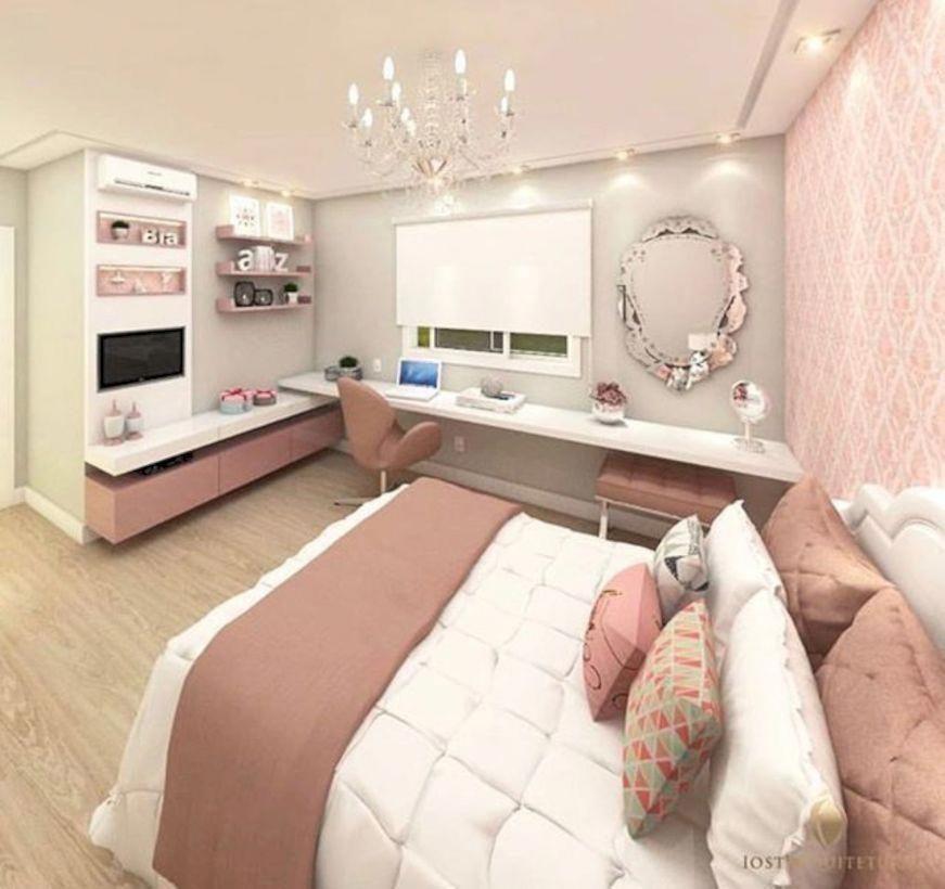 48 Bedroom Ideas for Small Rooms for Teens #Teengirlbedroomideas ...