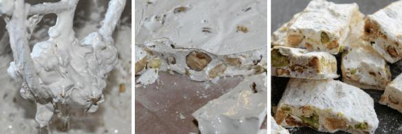 Fransk nougat, hård nougat og blød nougat - Danish Things #konfektjul Fransk nougat - hård nougat - blød nougat. Hjemmelavet Fransk nougat med hasselnødder, mandler og pistacienødder. Lav selv den lækreste konfekt til jul eller når du vil forkæle dig selv, eller en du holder af. Opskrifter og inspiration til din konfekt finder du på danishthings.com, hvor du også finder gratis print og inspiration til årets gang. #konfektjul
