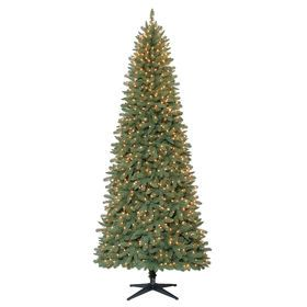 Picture Of C24 9 Ft Pre Lit Stratford Pine Christmas Tree With 900 Clear Lights Pine Christmas Tree Christmas Tree Christmas Tree Pictures