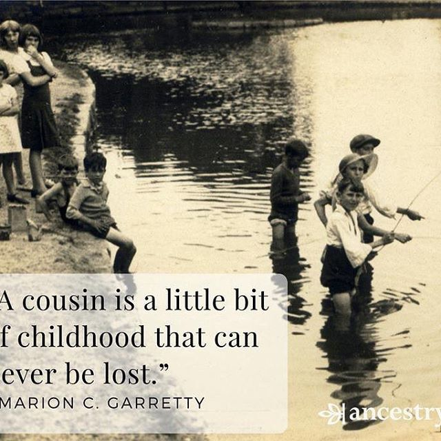 tell us your favorite childhood memory you shared a cousin