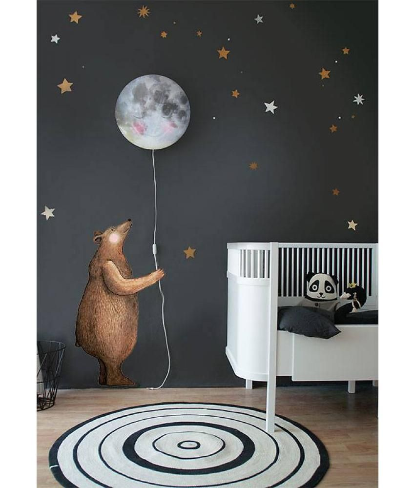 Wall Lamps For Children S Room : New Bear wall sticker available in our shop now? Childrens bedrooms Pinterest Wall sticker ...