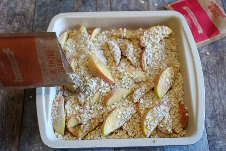Weight Watchers Apple Crisp Recipe The Holy Mess #applecrisp