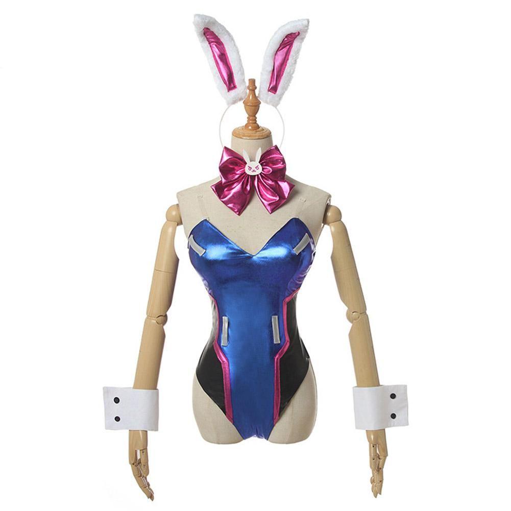 D.Va Bunny Suit Overwatch cosplay costume DVA
