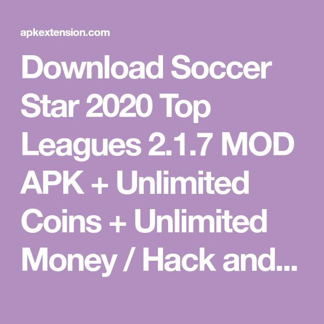 Download Game Gardenscapes Mod Apk Unlimited Stars: Soccer Star 2020 Top Leagues 2.1.7 MOD APK (Hack
