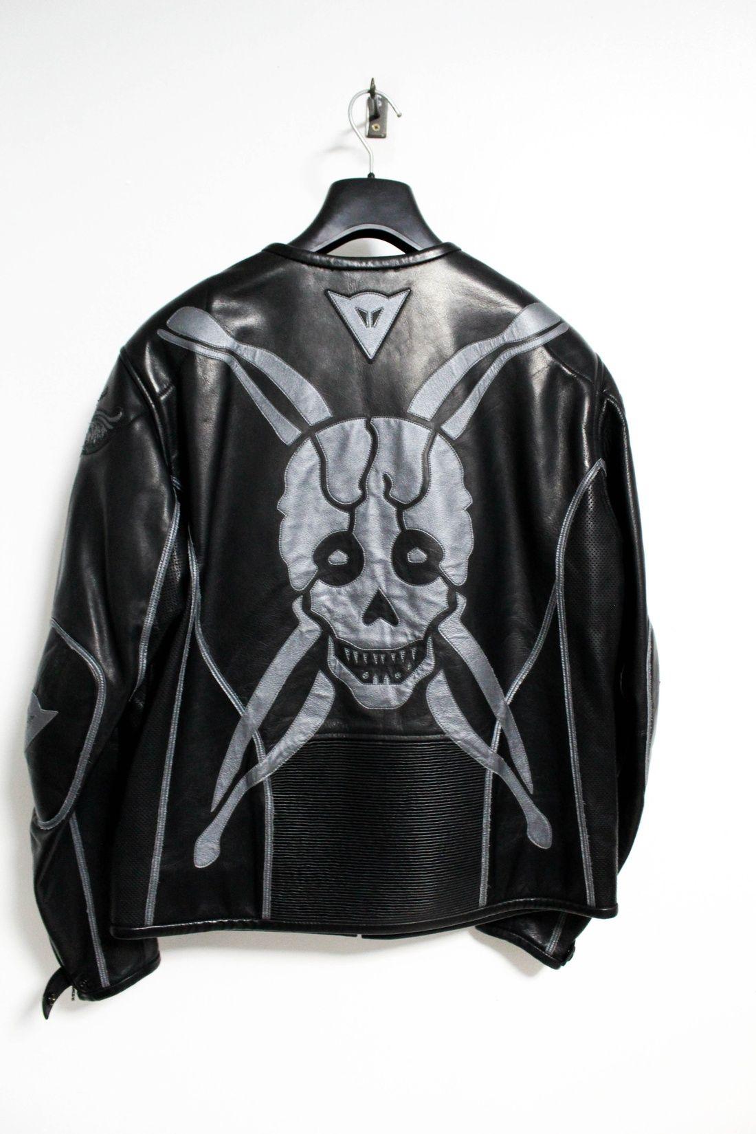 22f1eb85227b29 Yohji Yamamoto AW04 Skull Motorcycle Leahter Jacket Size US M   EU 48-50   2