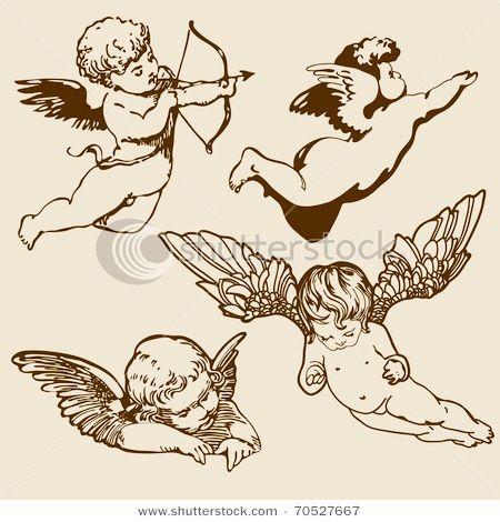 Epingle Par Masahiro Masuda Sur Ange Tatouage Cupidon Tatouage Ange Idees De Tatouages