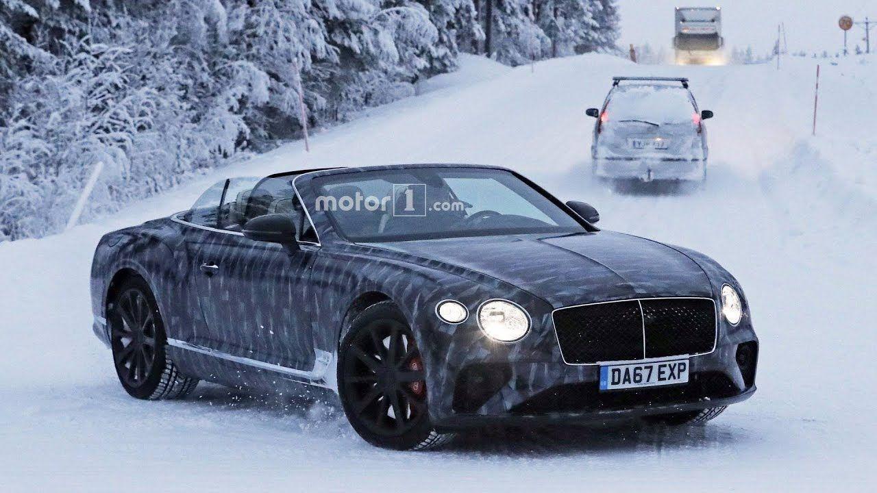 2019 Bentley Continental Gtc Spy Shots Racing Pinterest Wiring Diagram