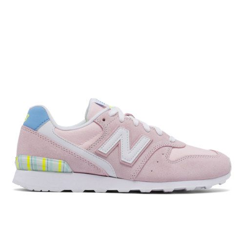 detailed look a8542 7033e 696 New Balance Women's Running Classics Shoes - Pink/White ...