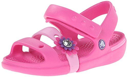 Toddler Crocs Keeley raspberry pink mary jane