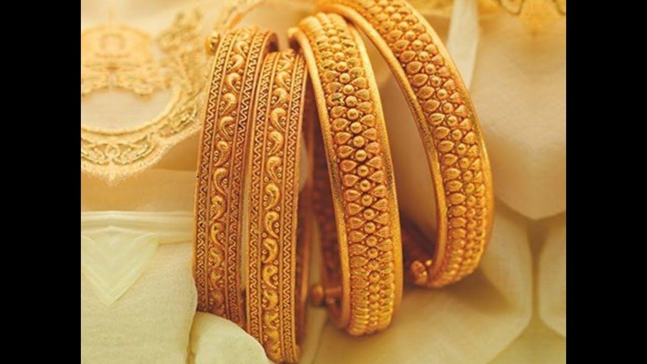 Latest Gold Bangles Design 2017-2018. | Shalwar Kmaeez Designs ...
