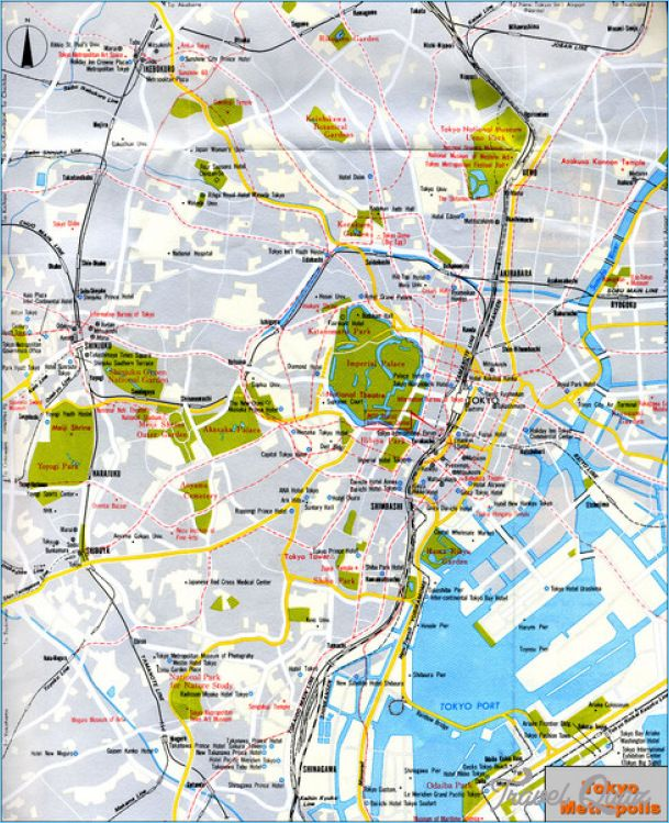 Japan Map Tourist Attractions -    travelquaz japan-map - new world map showing tokyo japan