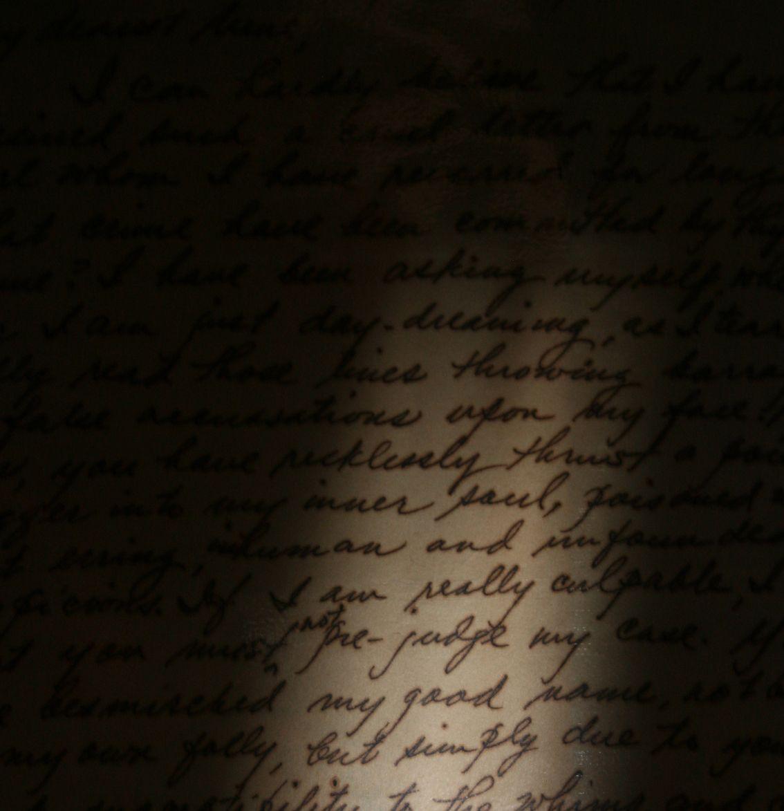 One of the love letters my Grandpa wrote my Grandma <3
