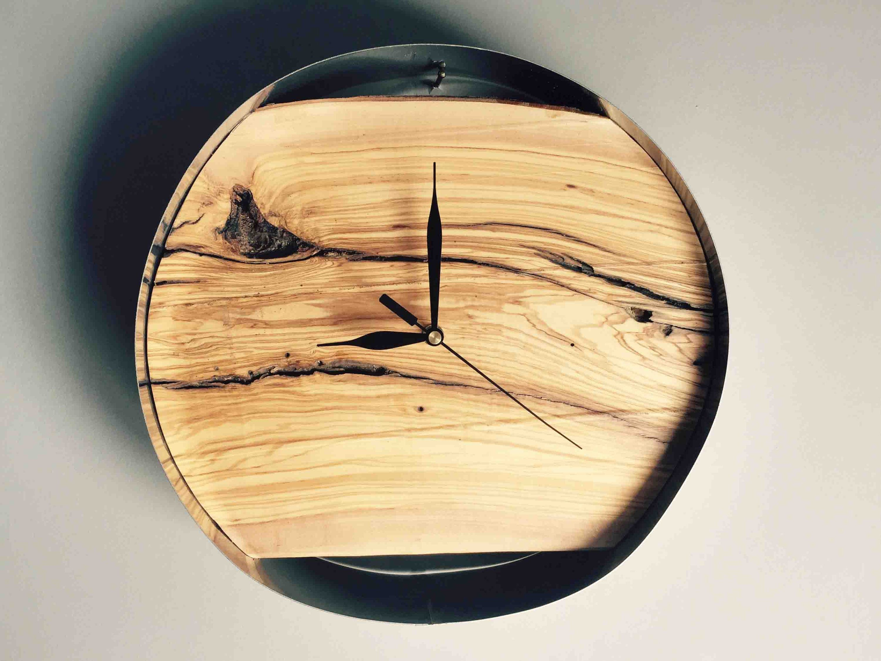 Rustic wall art handmade wall clock clocks for wall office wall