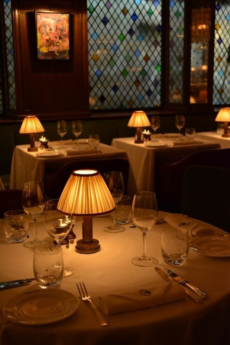 Customized Victoria Cordless Table Lamps At The Iconic The Ivy In London Learn More At Www Neoz Living Room Table Table Lamps Living Room Dining Table Lamps