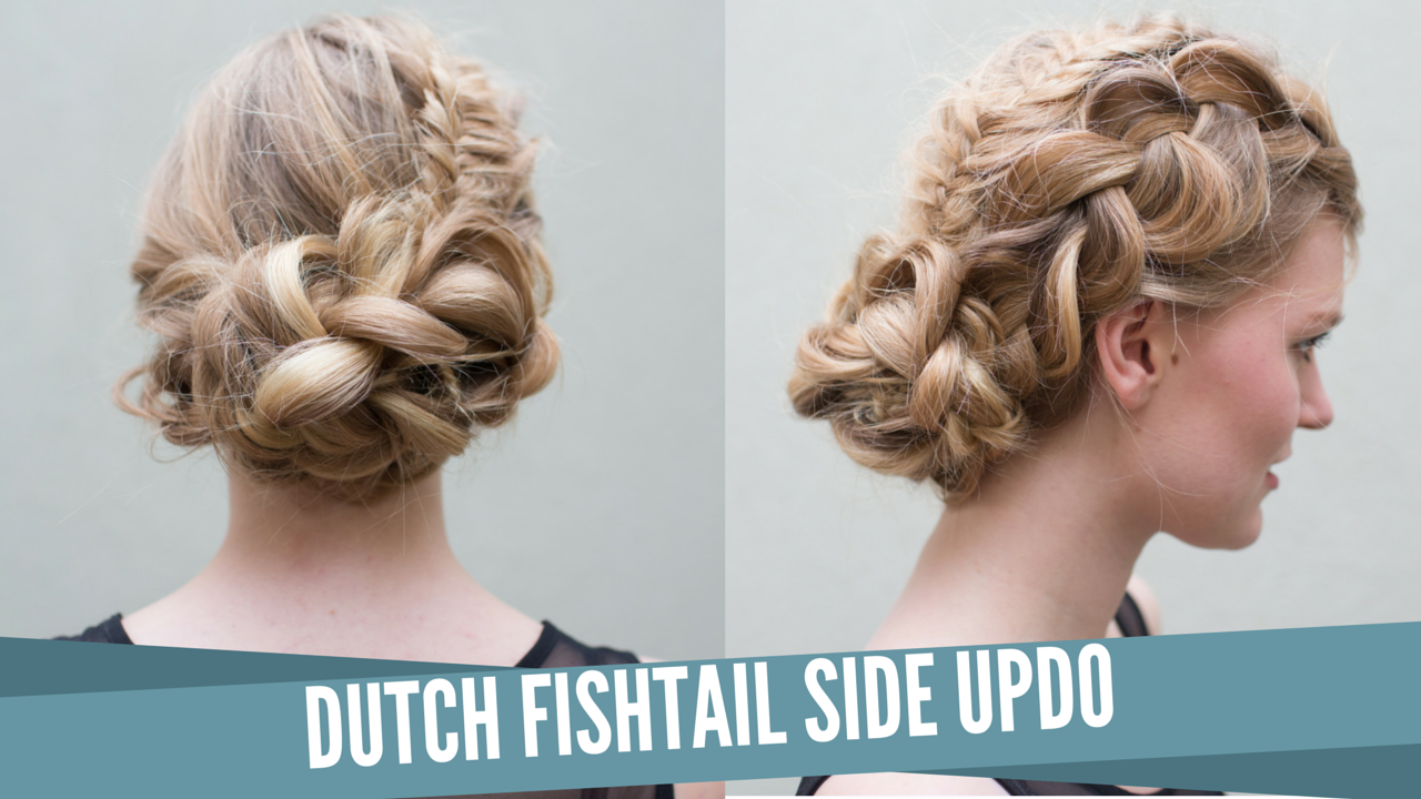 Jennystrebe shows off her latest hairstyle the dutch fishtail side