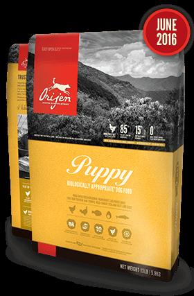 Holistic Dog Food Orijen Puppy 25lb Grain free dog food
