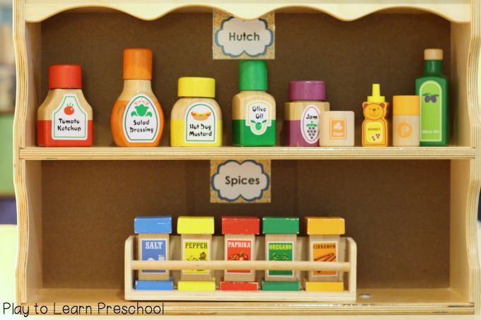 Kitchen Labels Dramatic Play Centers Dramatic Play