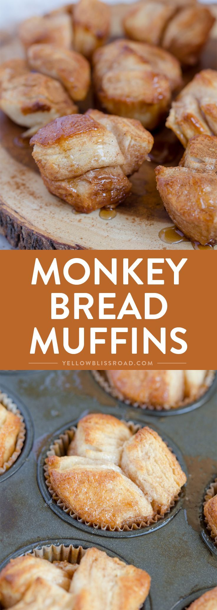 Monkey Bread Muffins | Recipe | Monkey bread muffins ...
