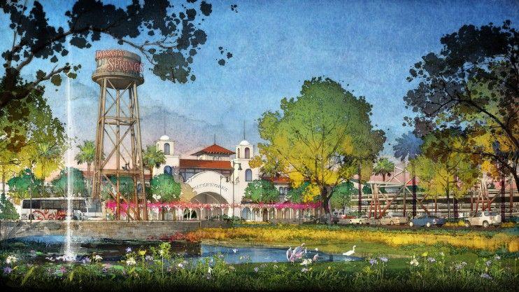 Downtown Disney vira Disney Springs