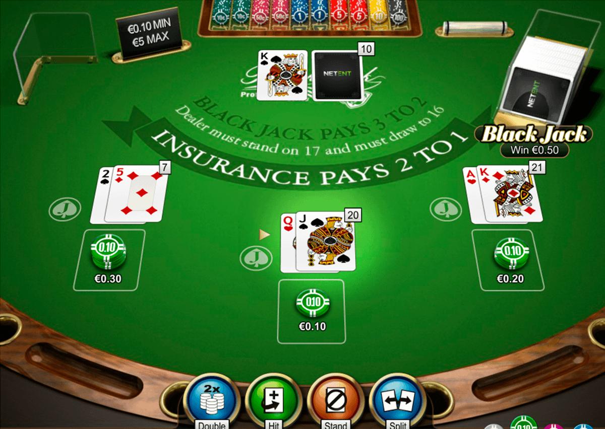 The NetEnt company warmly presents the Blackjack Pro Low