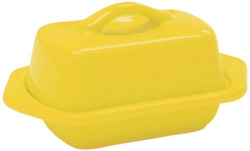 Chantal Mini Butter Dish Canary Yellow -- This Is An