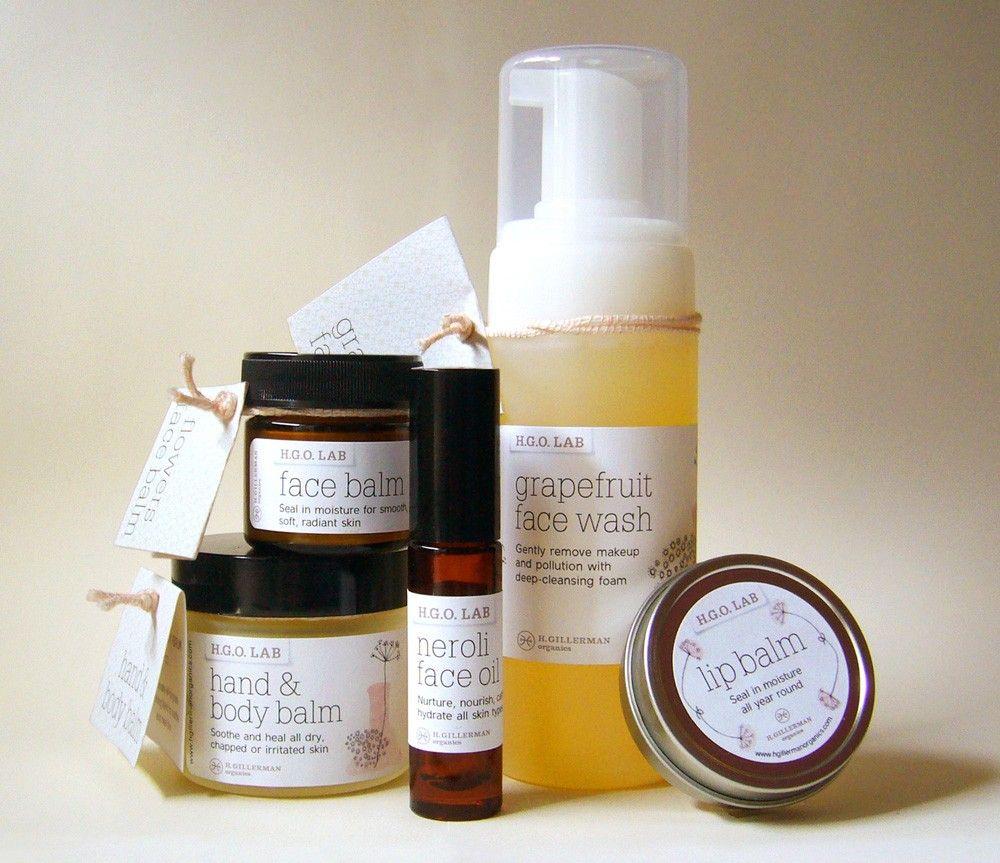 Skin Care Organic: HGO Hope Gillerman Organics Lab Skin Care Line Set