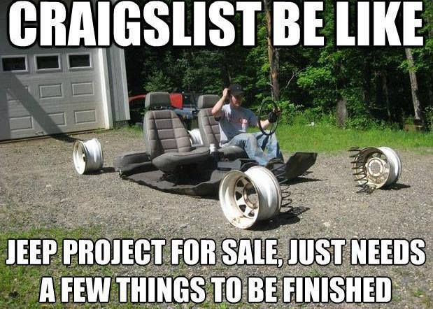 Cheap Jeeps For Sale >> Pin by Gloria Cannon on Jeep For Sale | Car jokes, Funny ...