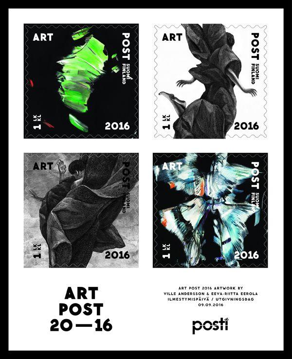 Art Post II -pienoisarkki on jatkoa syksyn 2015 julkaisuun. Merkkien taiteilijat ovat Ville Andersson ja Eeva-Riitta Eerola. Ilmestymispäivä 9.9.2016