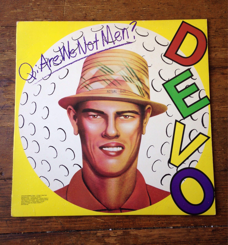 1978 Are We Not Men We Are Devo Debut Record Album Bsk 3239 Devo E Sleeve Nm Media Warner Bros Records De Are We Not Men Cover Songs Vinyl Record Album