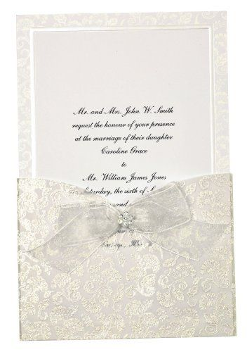 Robot Check Wedding Invitation