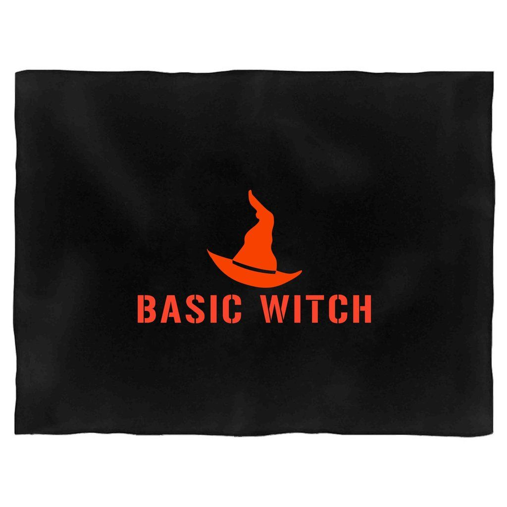 Basic Witch Halloween Funny Bff Costume Blanket