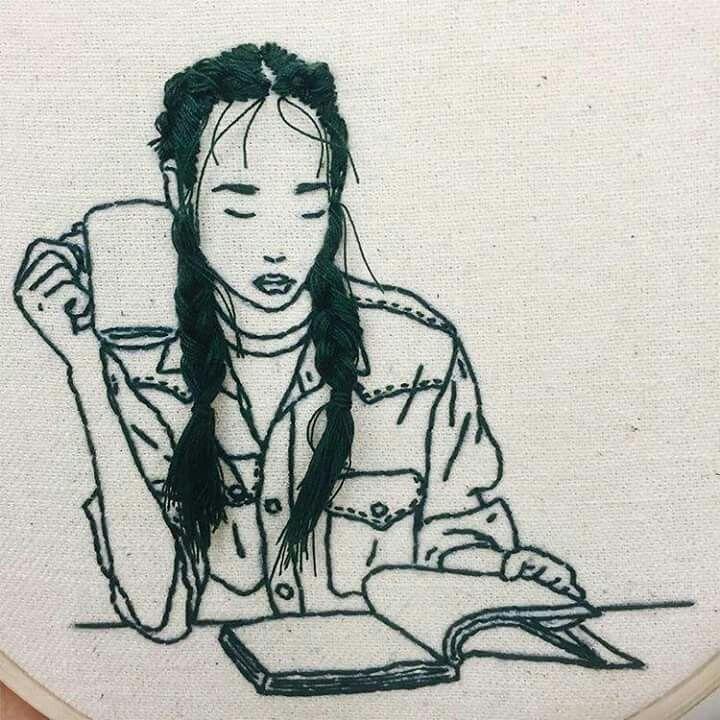 Pin de M@r en Diseno   Pinterest   Bordado, Diseños de bordados y Trenza