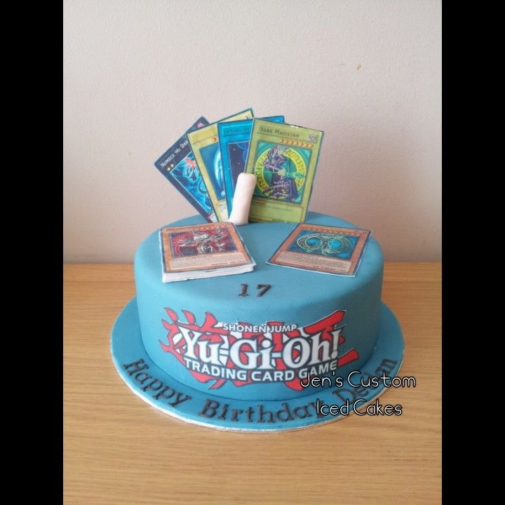 yu gi oh trading card game cake | cake inspirations | pinterest