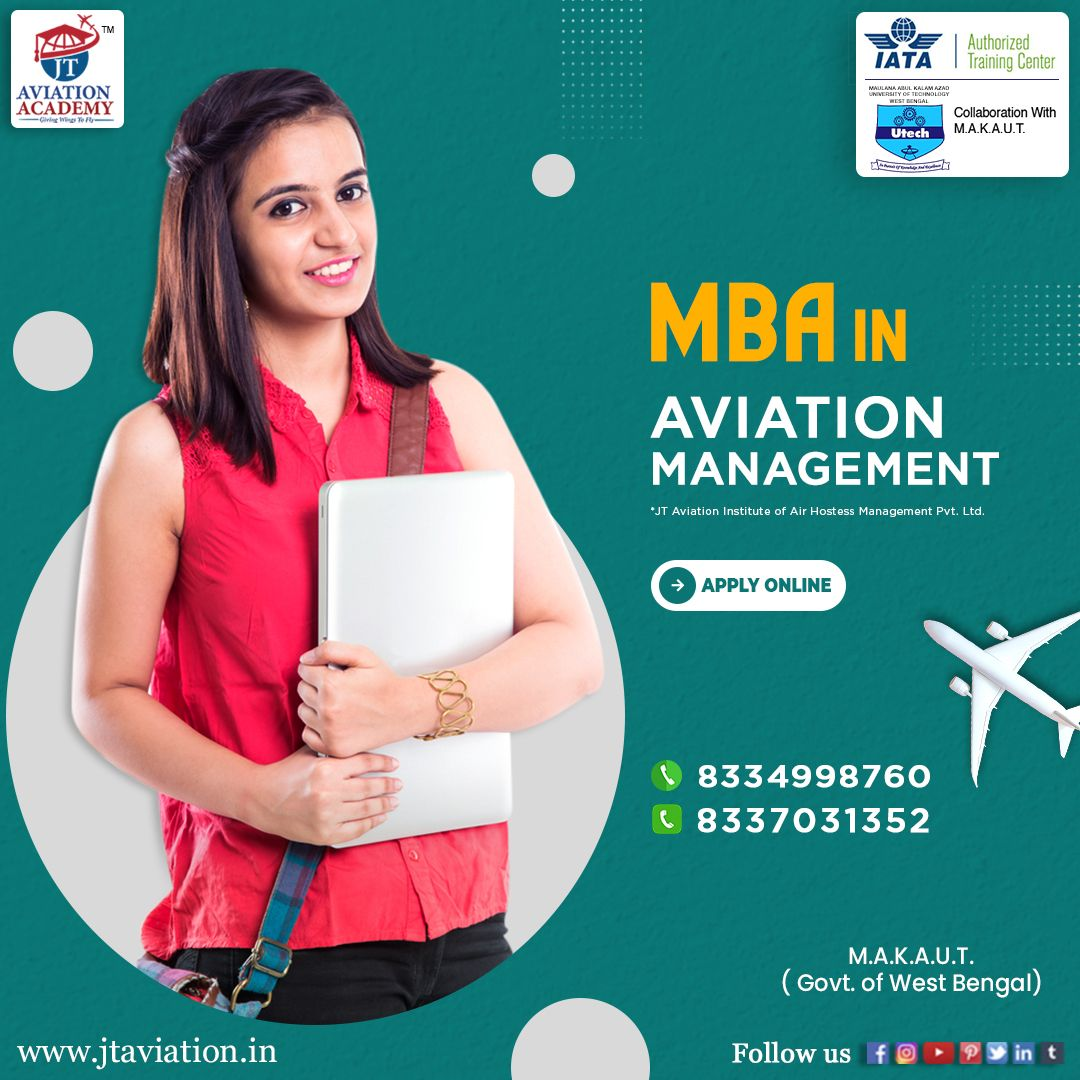 An MBA course in the aviation industry is beneficial for
