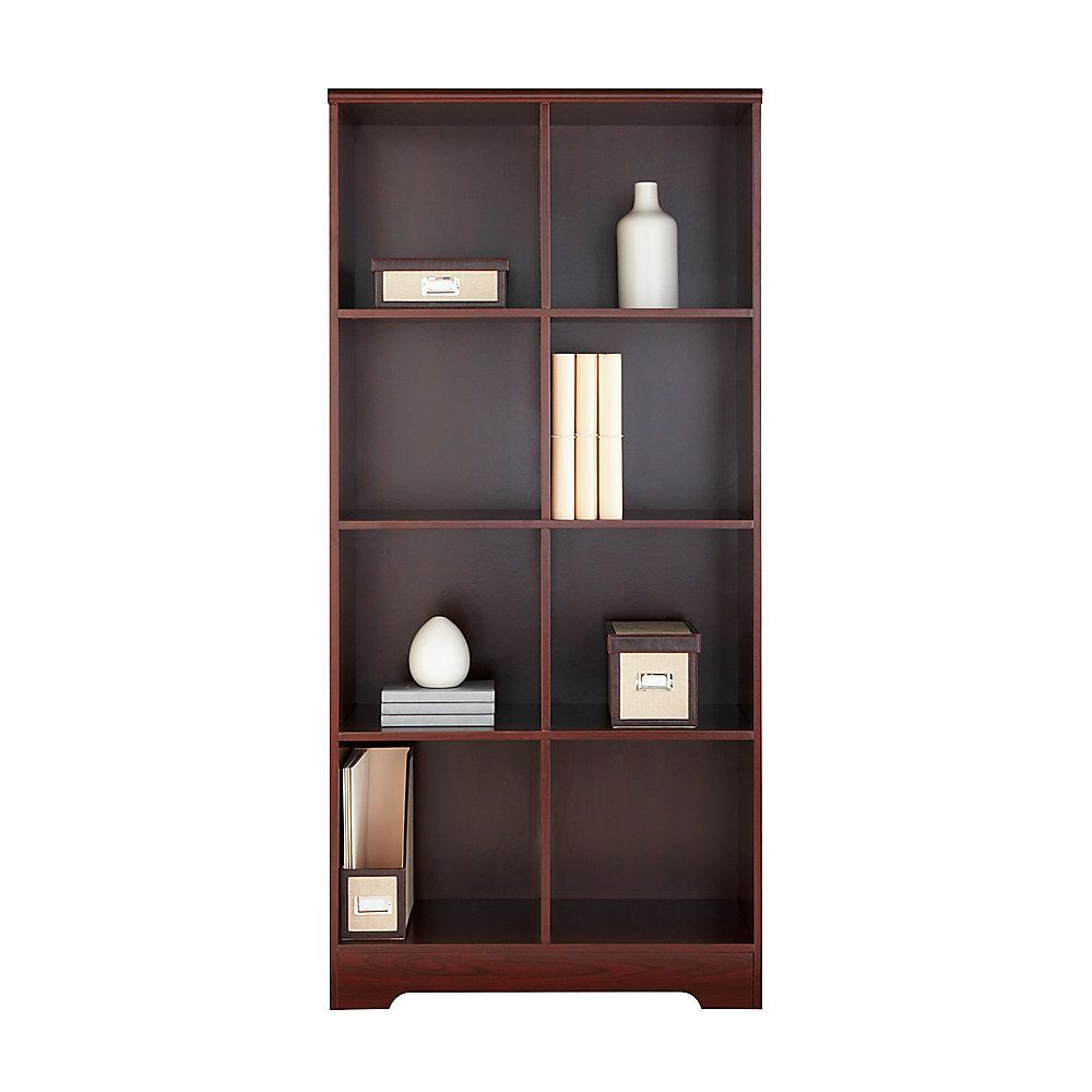 bookcases shelffice depot with doors office interior bookcase cherry fice sauder