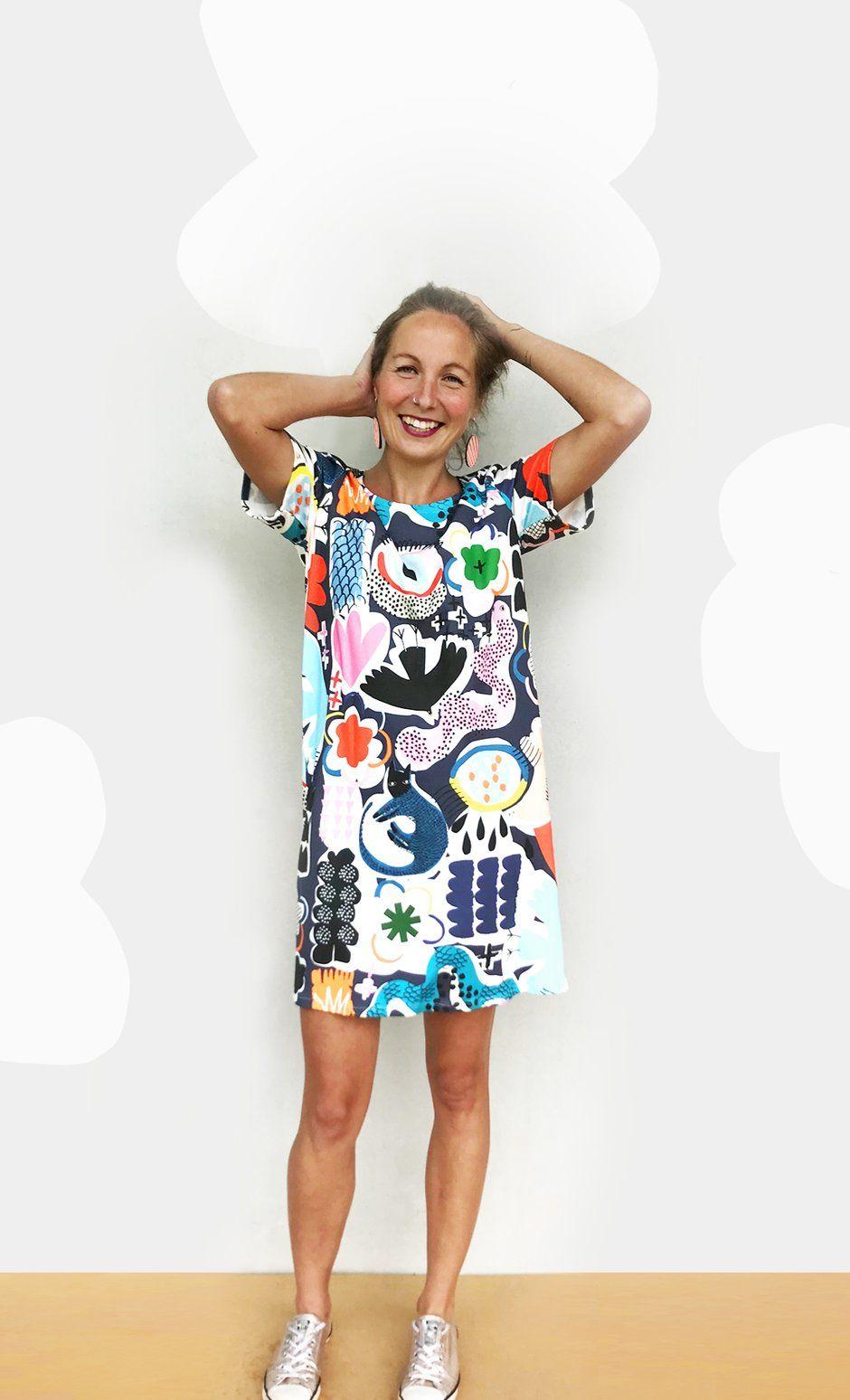 doopsdesigns apparel design inspiration T dress