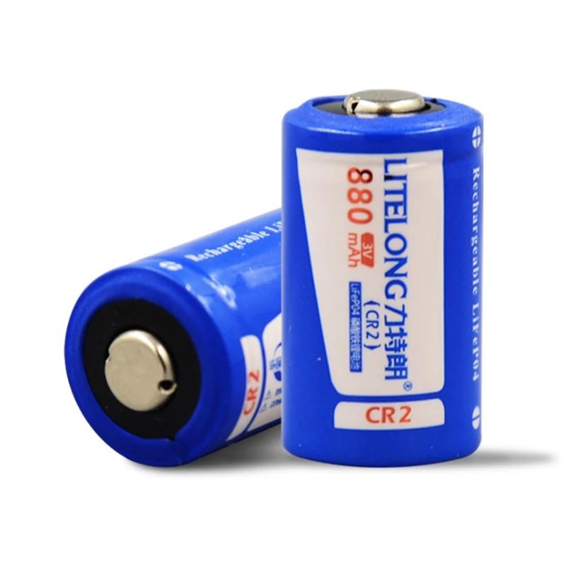 4pcs 880mah 3v Cr2 Rechargeable Lifepo4 Battery Lithium Battery 1pcs D Ezbuypay Lithium Battery Rechargeable Batteries Lithium Battery Charger