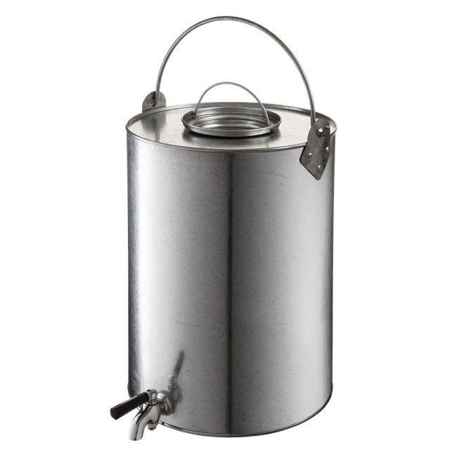 vattenbehållare zinc rund klädställningar överlevnadskit hinkar on zink outdoor kitchen id=77029