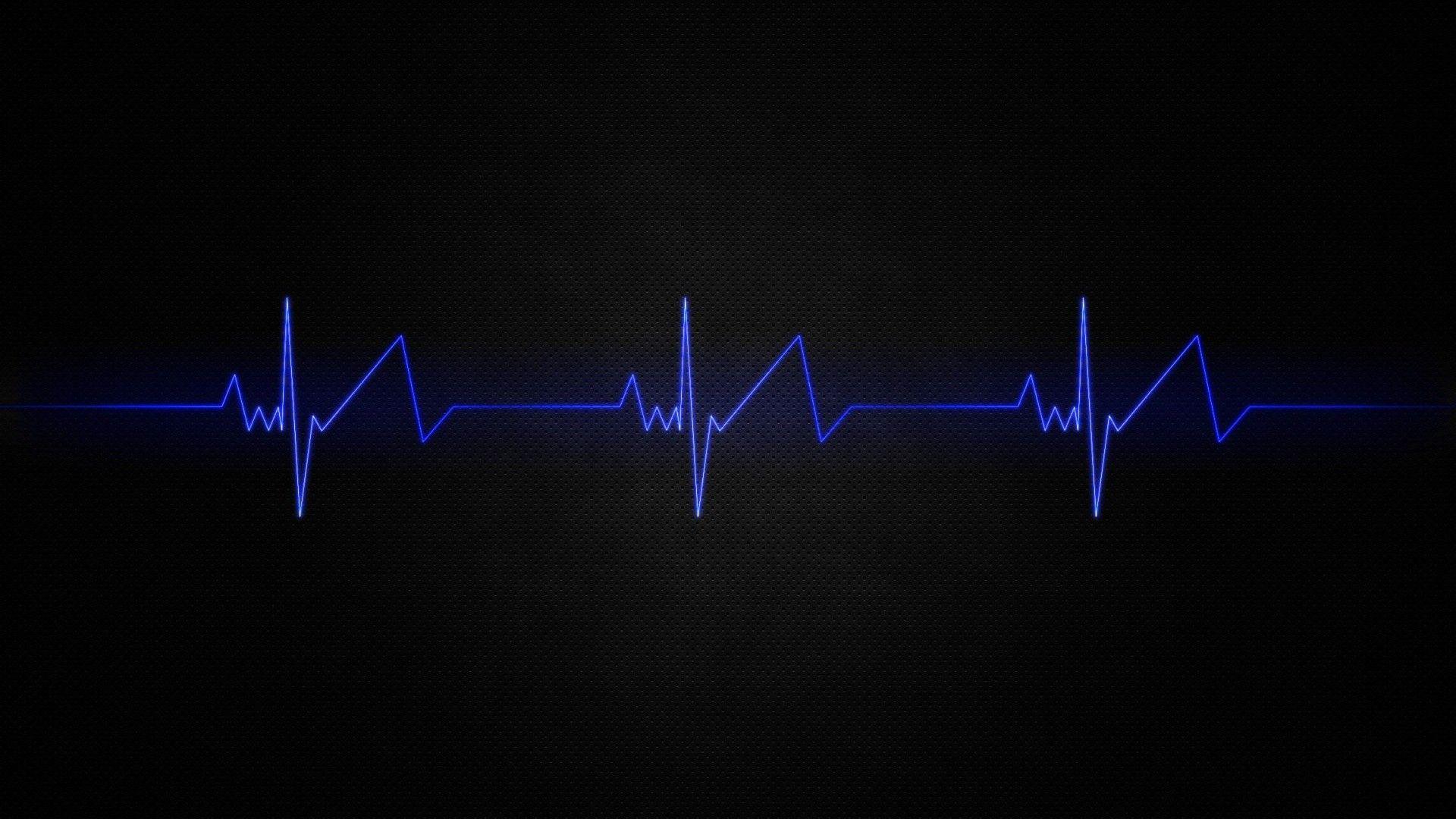 Beautiful Heartbeat Wallpaper 1920x1080 Hd Beats Wallpaper Blue