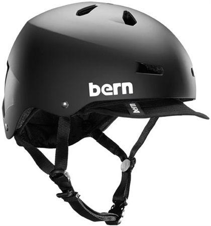 Picture Of Bern Macon Helmet With Visor Helmet Bike Riding Helmets