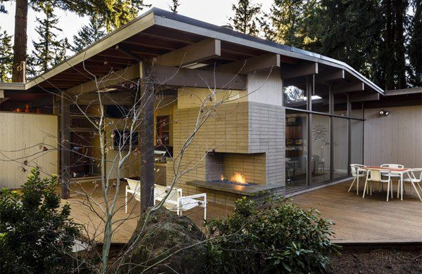 Post And Beam Remodel In Portland Modern Outdoor
