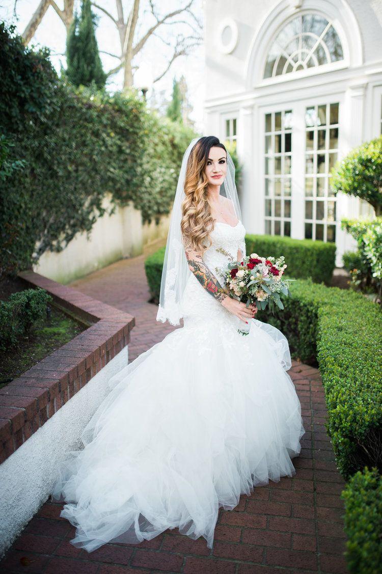 Wedding dress sacramento  Marlee u Michael Wedding  Vizcaya Sacramento Ca  Pinterest