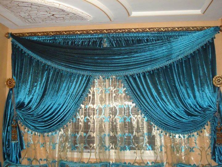 Rideau marocain mod les 2015 salon marocain pinterest for Modele rideau salon moderne