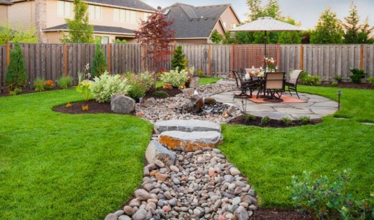 Awesome River Rock Landscaping Ideas 33 #riverrocklandscaping