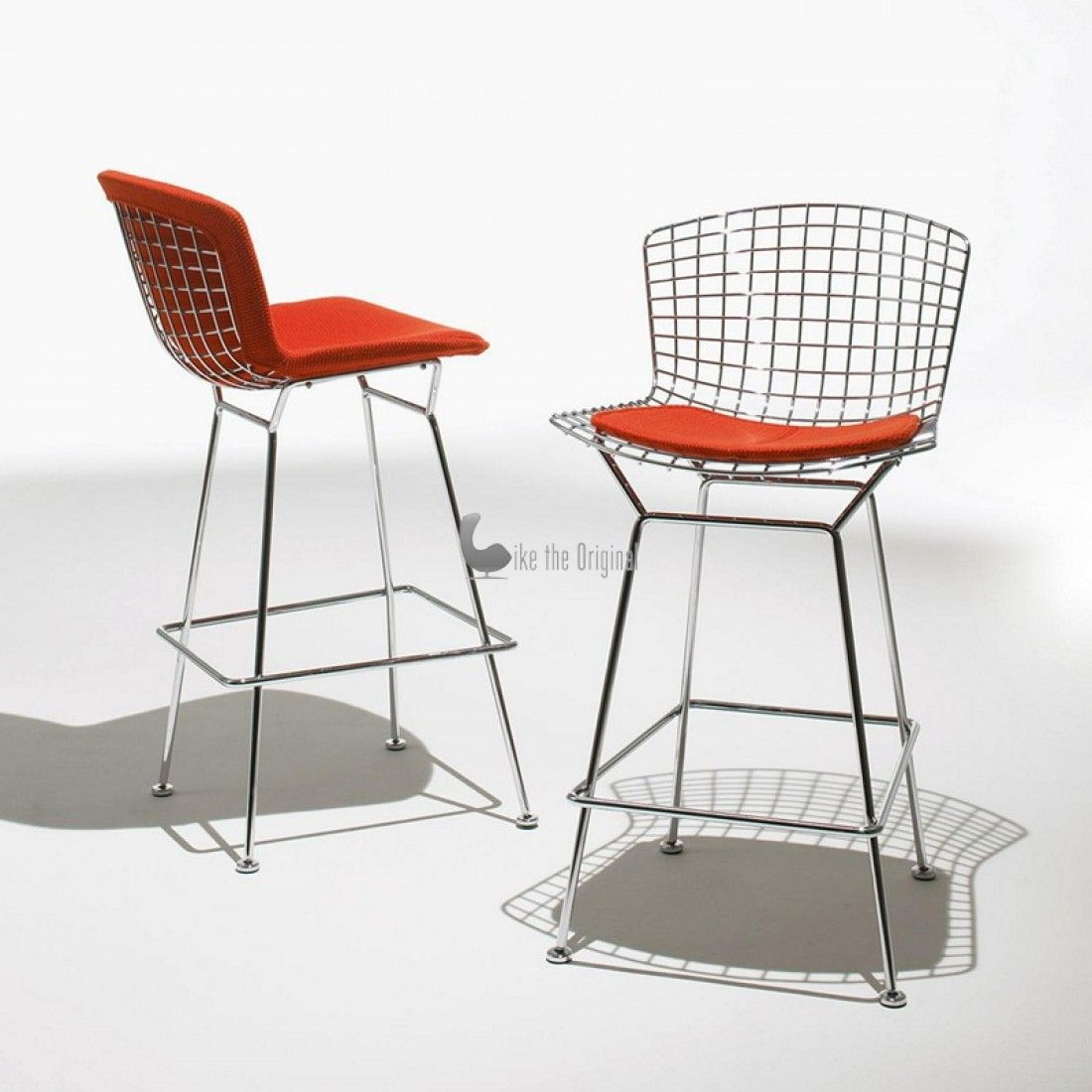knoll harry bertoia barstool with seat cushion. Knoll is the only  authorized and