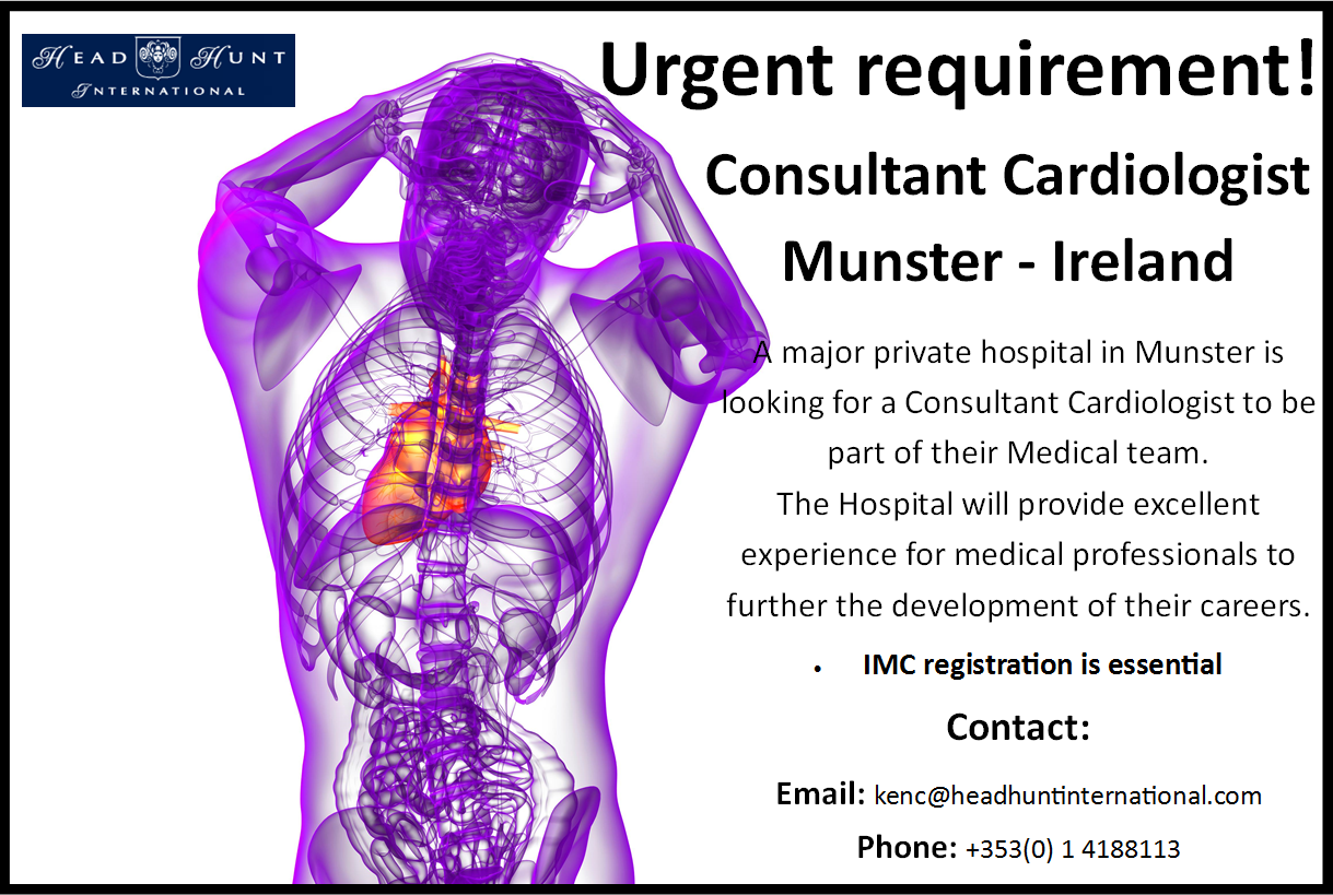 how to become a cardiologist in ireland