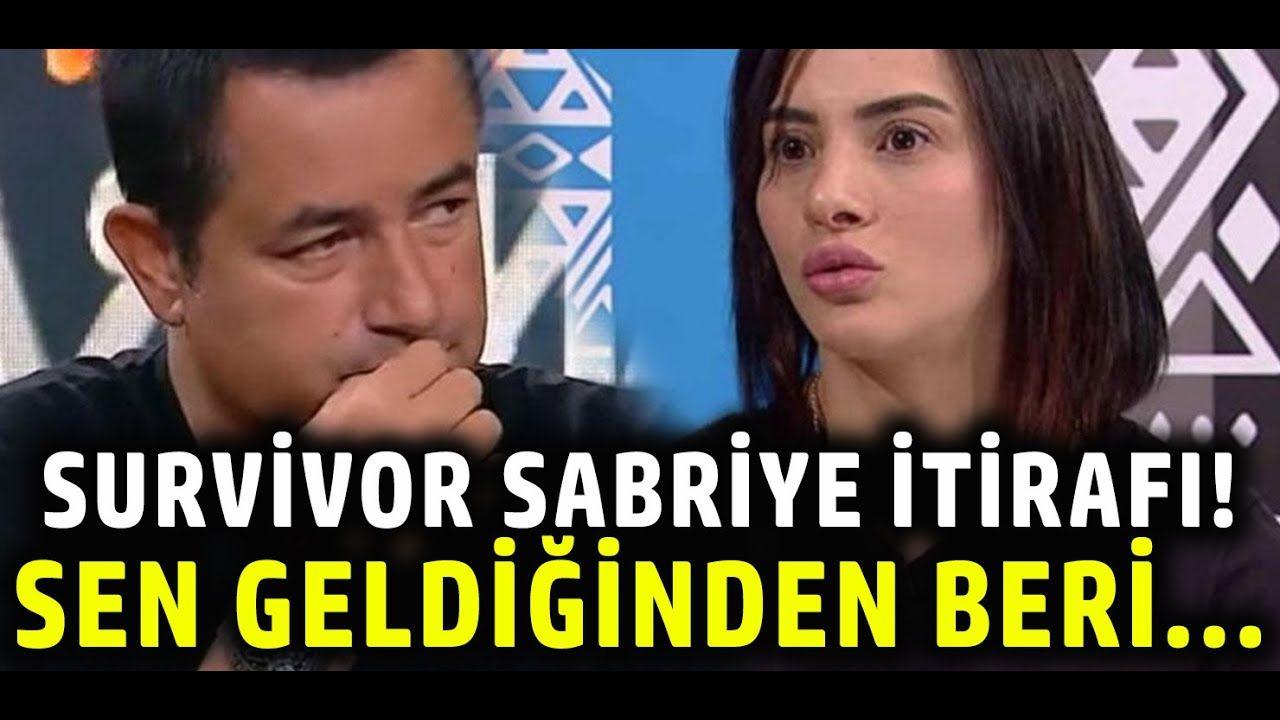 Acun Ilicali Dan Survivor Sabriye Itirafi Sen Geldiginden Beri Kiskanclik Youtube Entertainment
