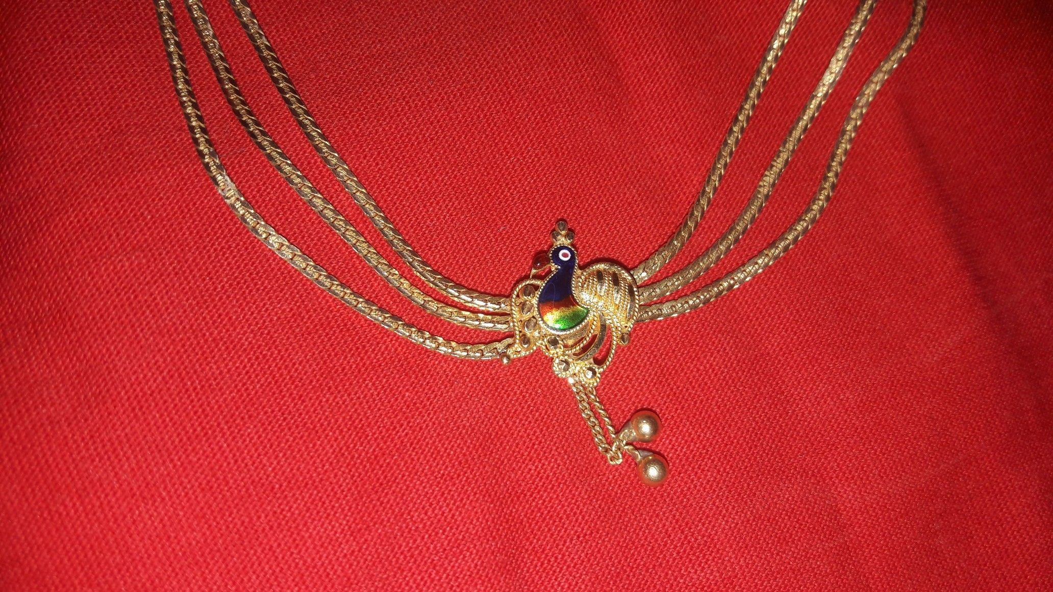 Peacock gold necklace my pinsta pinterest gold necklaces