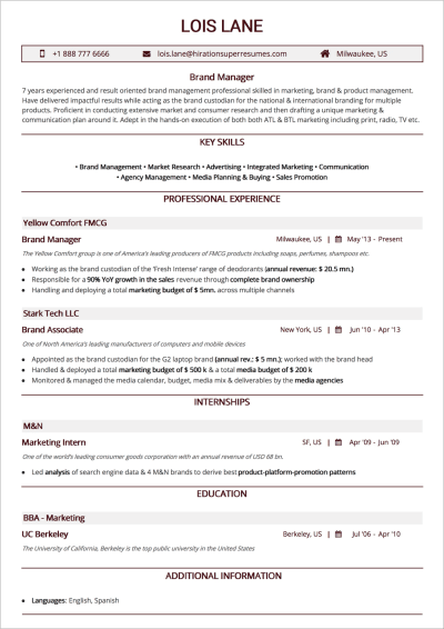How To Craft The Perfect Web Developer Résumé Best